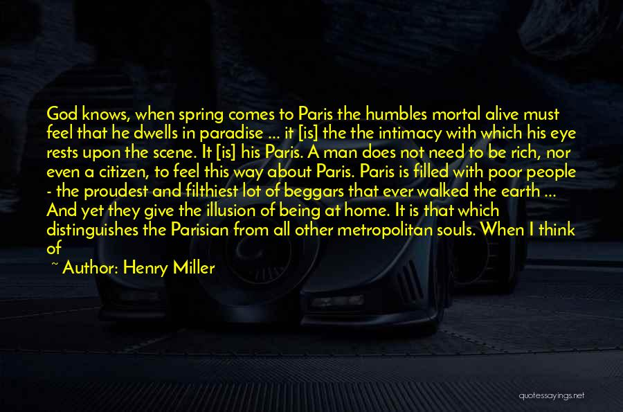 Cold Man Quotes By Henry Miller