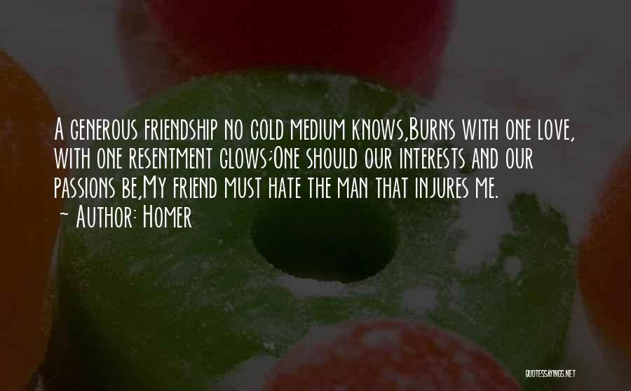 Cold Man Quotes By Homer