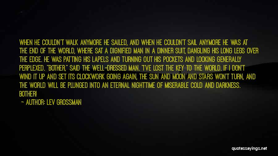 Cold Man Quotes By Lev Grossman