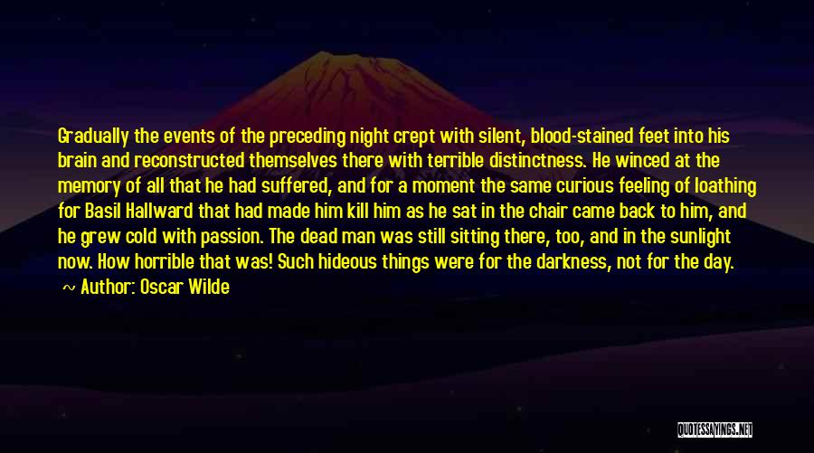 Cold Man Quotes By Oscar Wilde