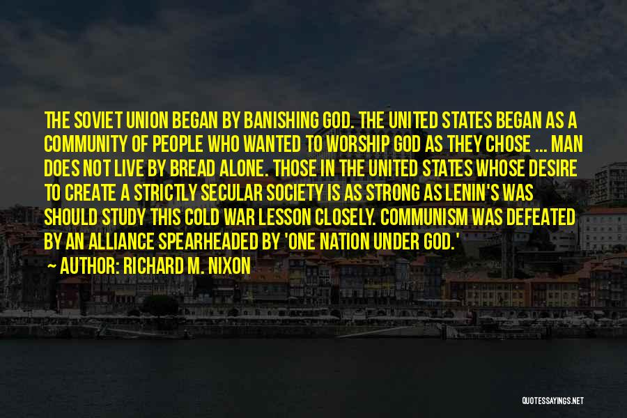 Cold Man Quotes By Richard M. Nixon