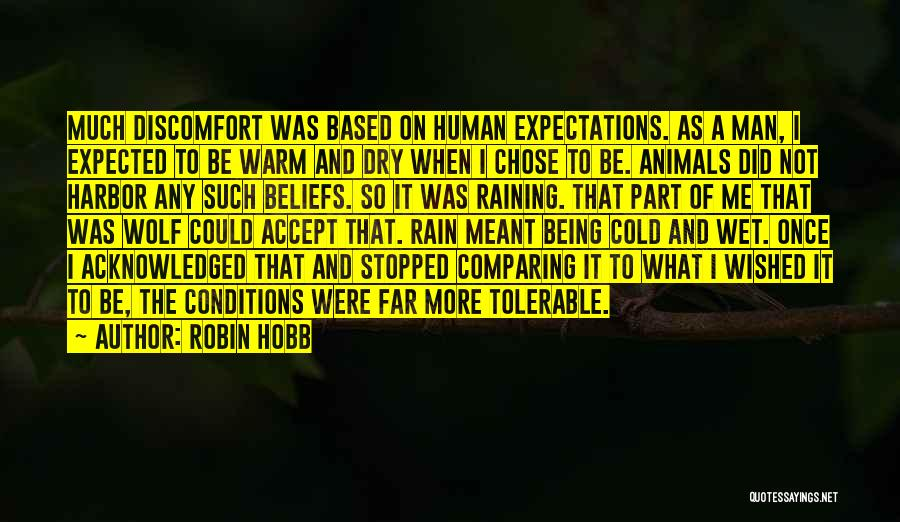 Cold Man Quotes By Robin Hobb