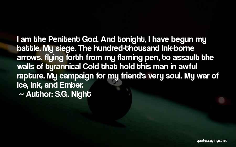 Cold Man Quotes By S.G. Night