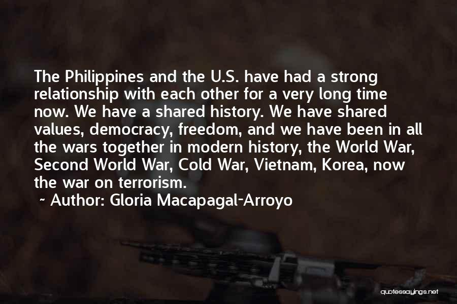 Cold Relationship Quotes By Gloria Macapagal-Arroyo