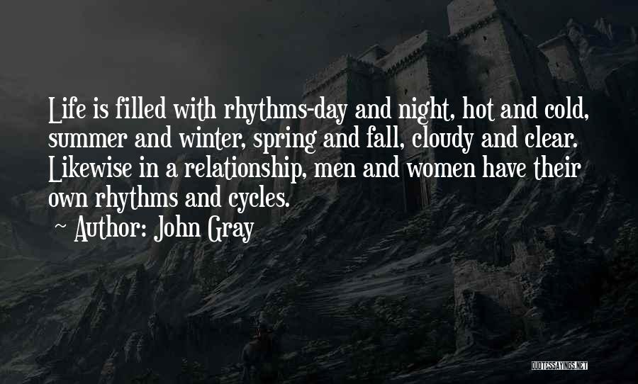 Cold Relationship Quotes By John Gray