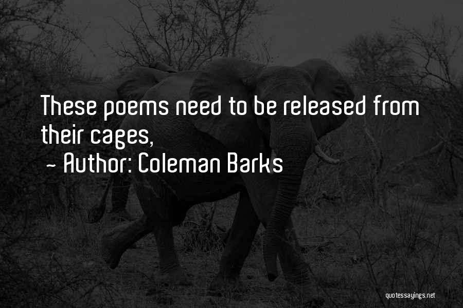 Coleman Barks Quotes 2206766