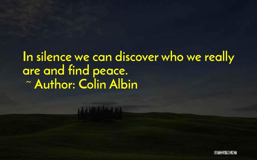 Colin Albin Quotes 2087153