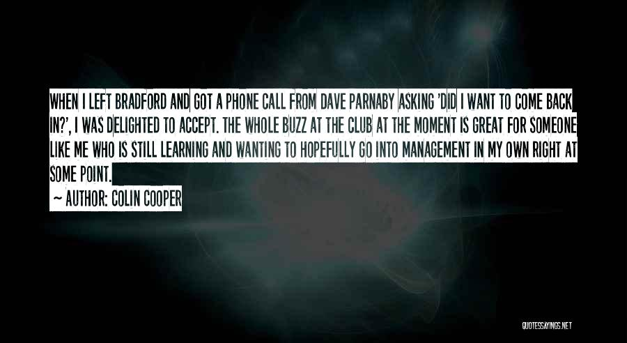 Colin Cooper Quotes 532753