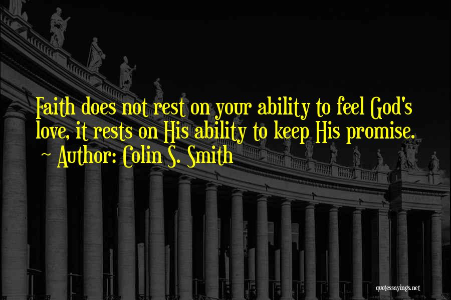 Colin S. Smith Quotes 224937