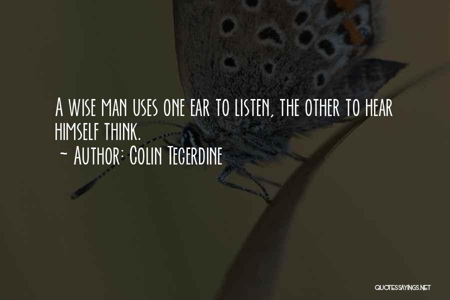 Colin Tegerdine Quotes 1078256