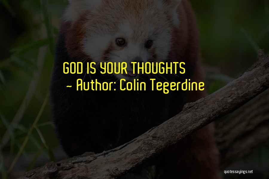 Colin Tegerdine Quotes 2002779