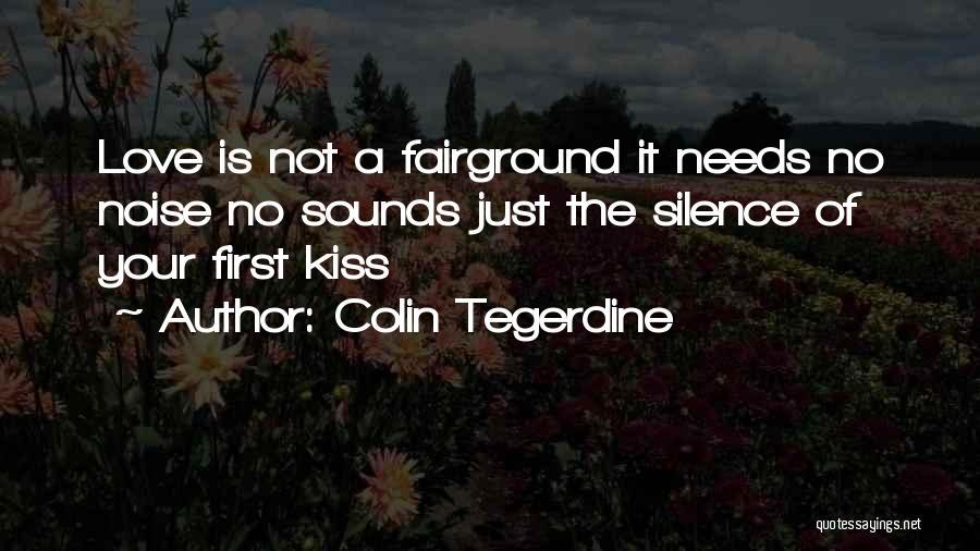 Colin Tegerdine Quotes 2138366