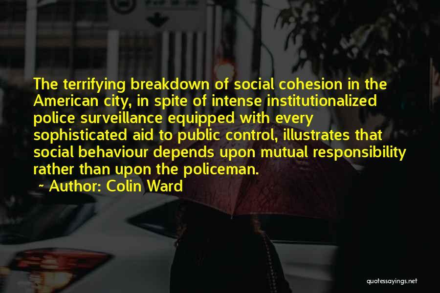 Colin Ward Quotes 1080933