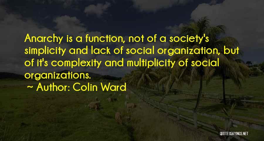 Colin Ward Quotes 205713