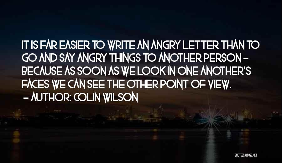Colin Wilson Quotes 1026266