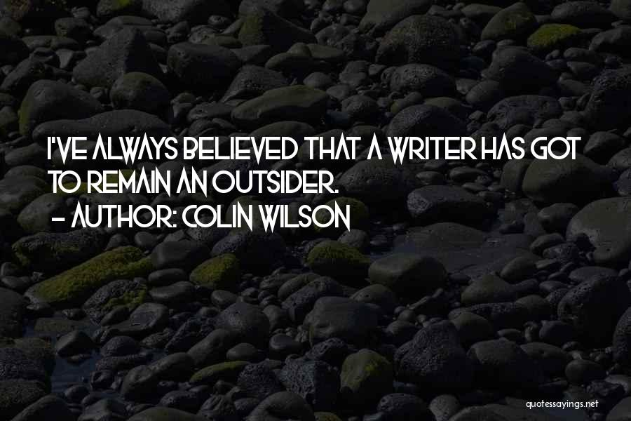 Colin Wilson Quotes 1123722