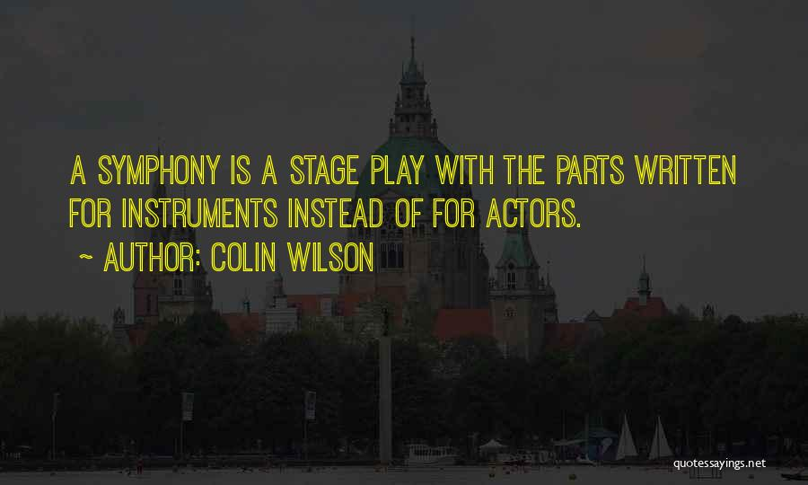 Colin Wilson Quotes 113749