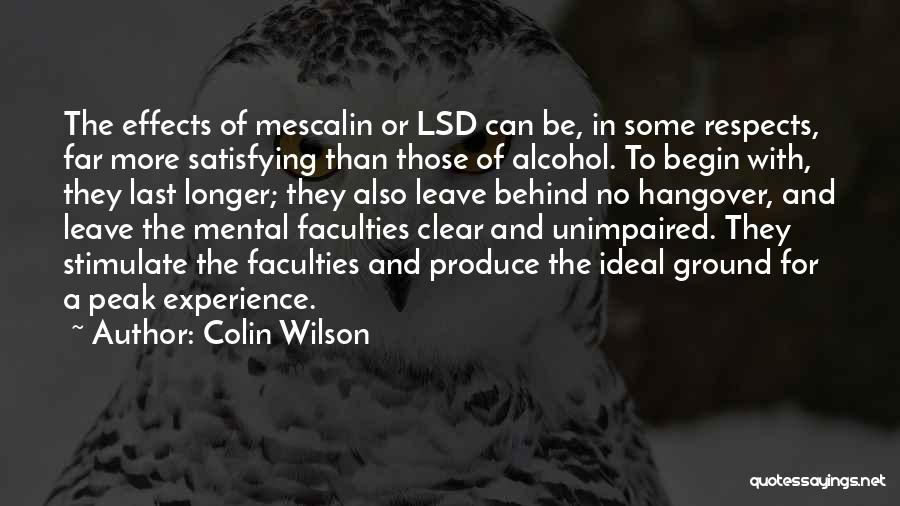 Colin Wilson Quotes 115796