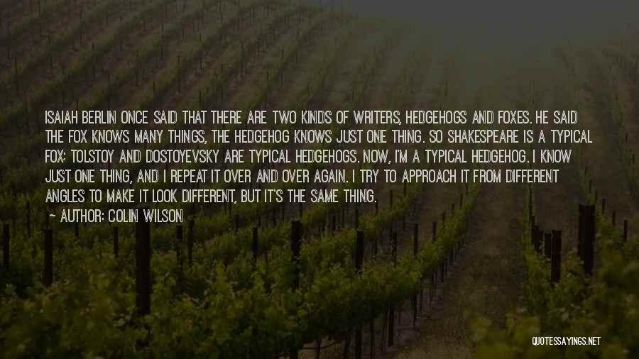 Colin Wilson Quotes 138402
