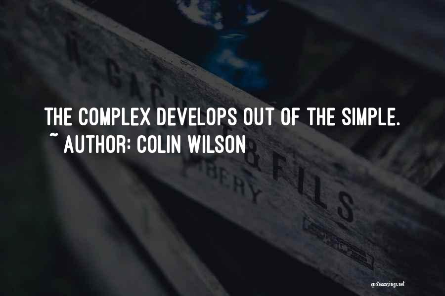 Colin Wilson Quotes 1595698