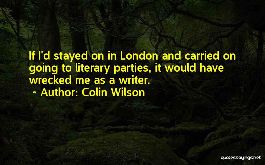 Colin Wilson Quotes 2107965