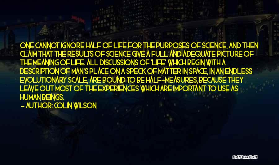 Colin Wilson Quotes 2175391