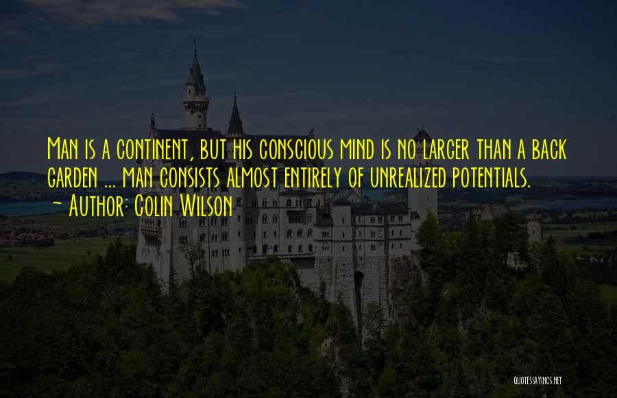 Colin Wilson Quotes 2245183