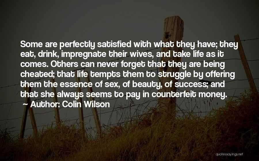 Colin Wilson Quotes 519418