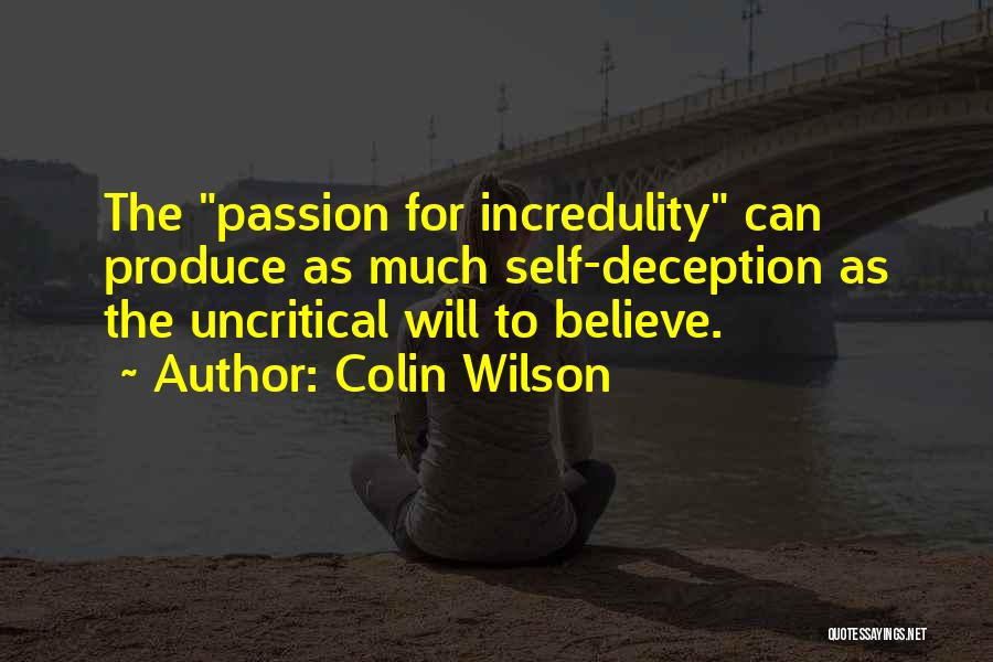 Colin Wilson Quotes 833879