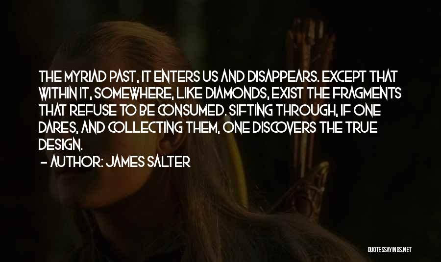 Collecting Diamonds Quotes By James Salter