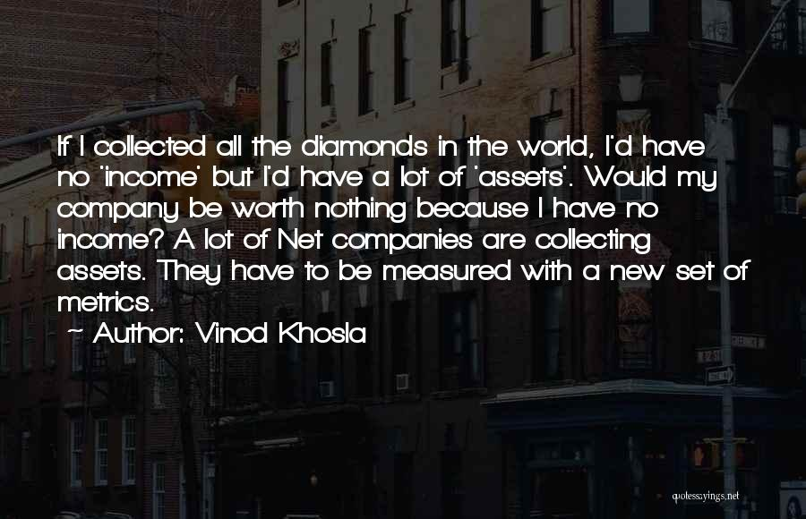 Collecting Diamonds Quotes By Vinod Khosla