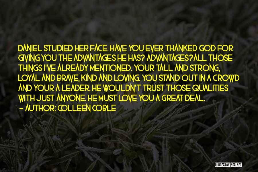 Colleen Coble Quotes 1425020
