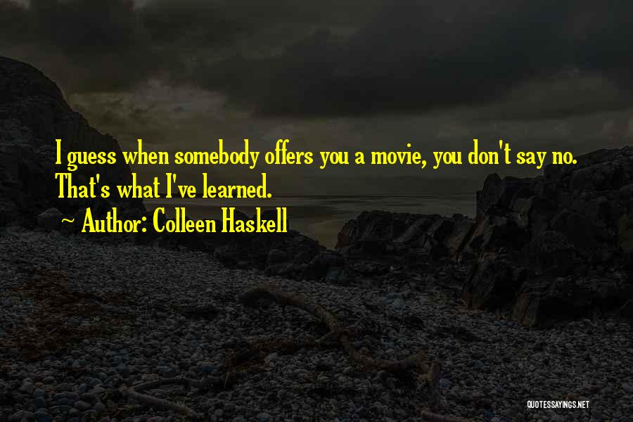 Colleen Haskell Quotes 104439