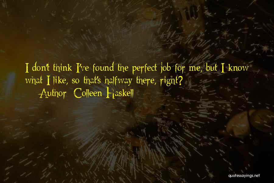 Colleen Haskell Quotes 1130469