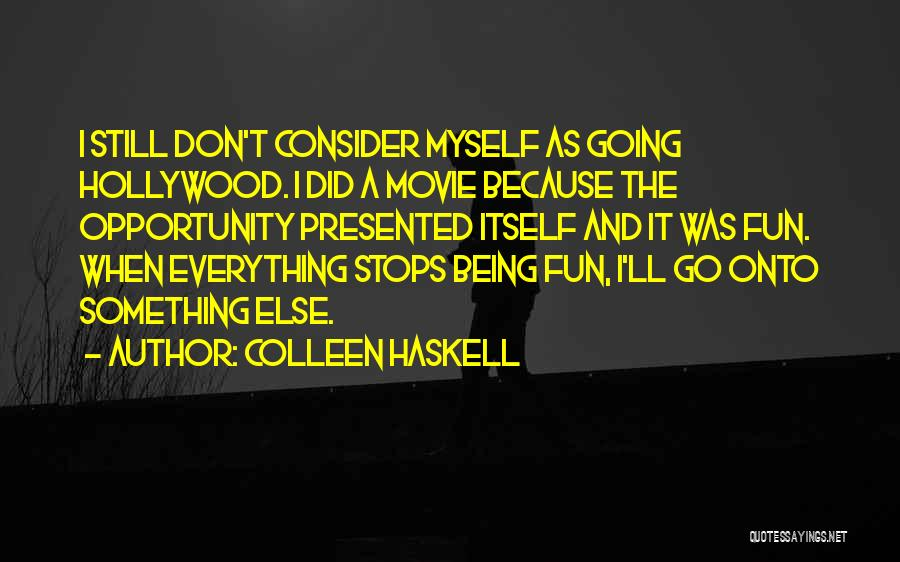 Colleen Haskell Quotes 169285