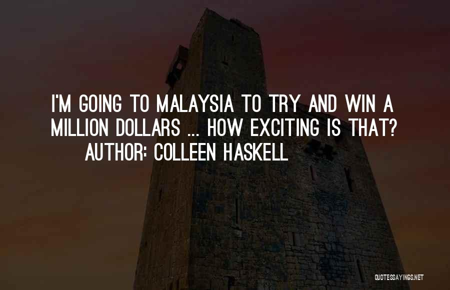 Colleen Haskell Quotes 1751866