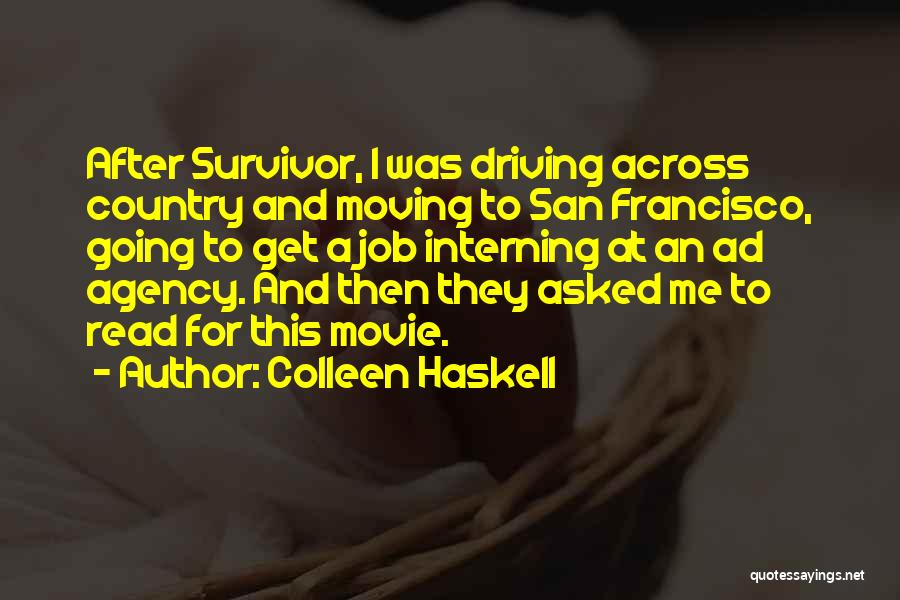 Colleen Haskell Quotes 1918365