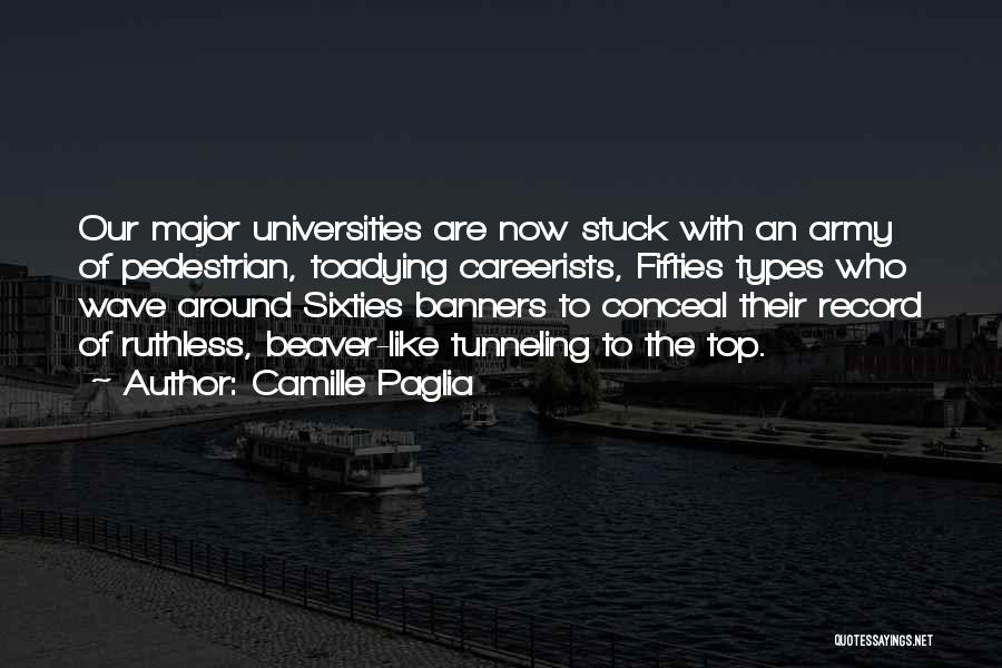 College Quotes By Camille Paglia