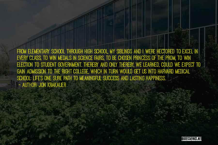 College Quotes By Jon Krakauer