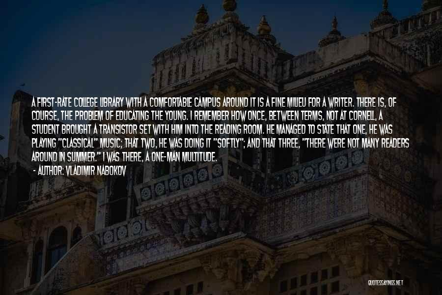College Quotes By Vladimir Nabokov