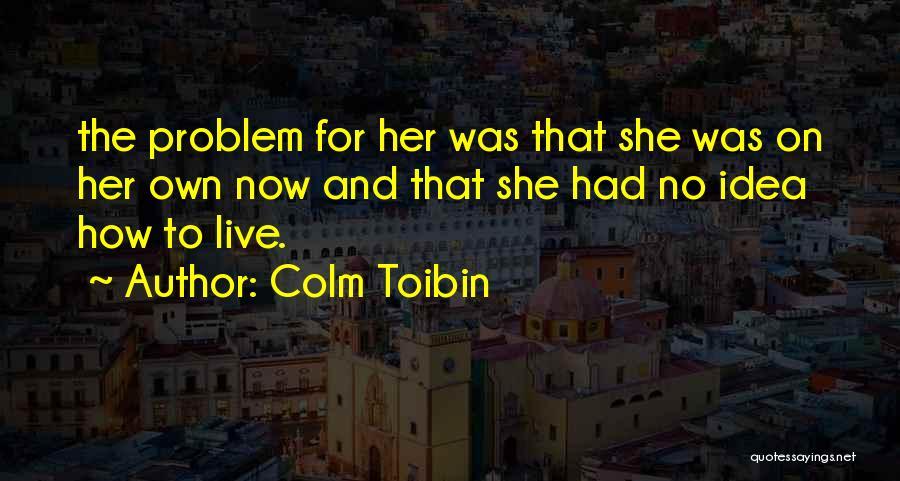 Colm Toibin Quotes 1456513