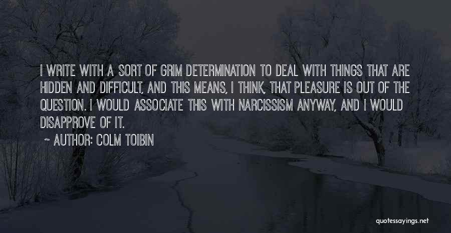 Colm Toibin Quotes 1562702
