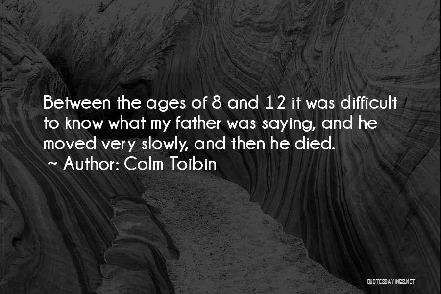 Colm Toibin Quotes 2067000