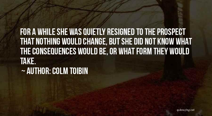 Colm Toibin Quotes 698654