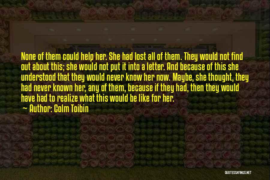Colm Toibin Quotes 96381