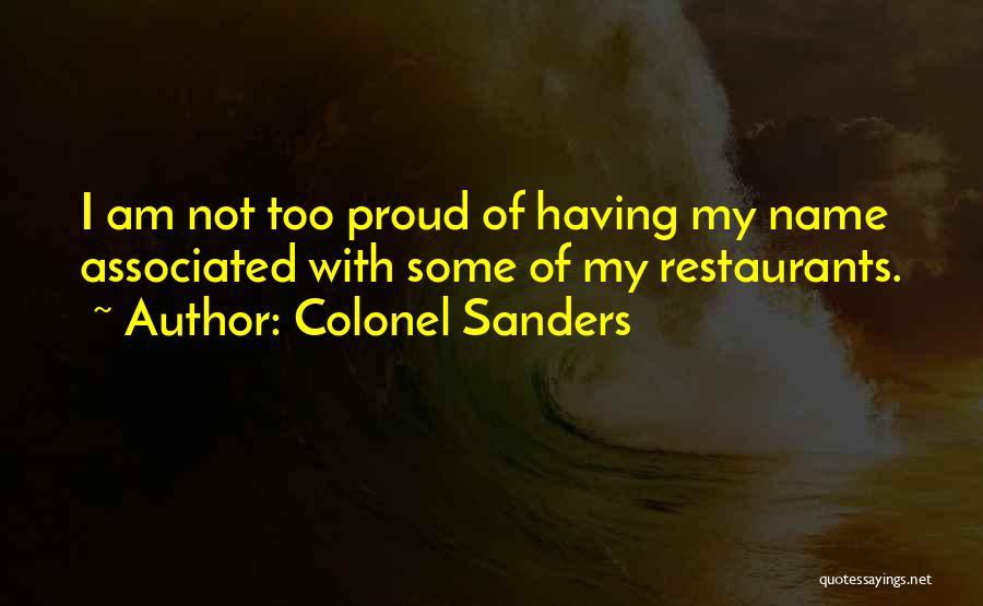Colonel Sanders Quotes 1900231