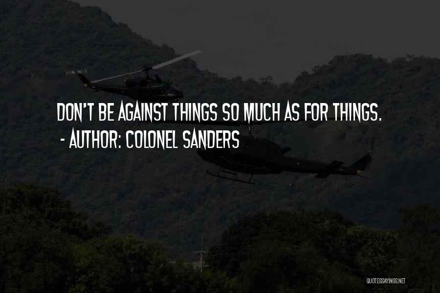 Colonel Sanders Quotes 1953780