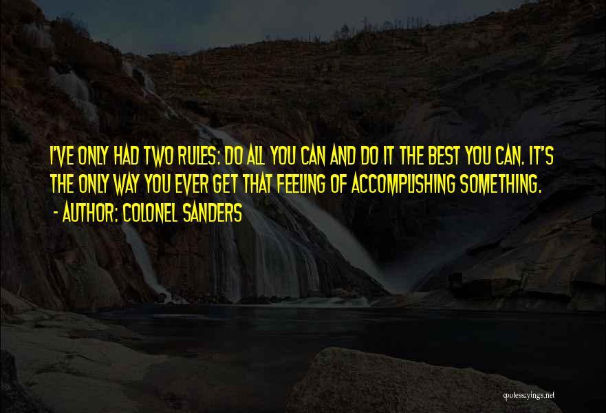 Colonel Sanders Quotes 290855