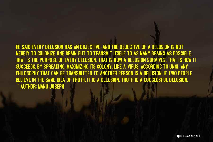 Colony Quotes By Manu Joseph