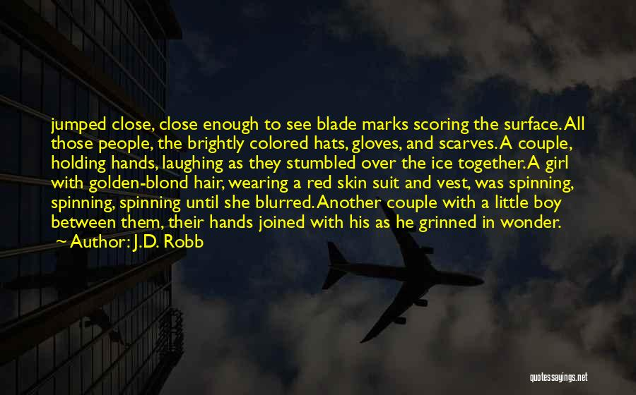 Colored Skin Quotes By J.D. Robb